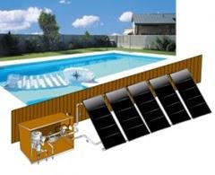 Instalaci n solar para climatizaci n de piscina en for Climatizar piscina exterior
