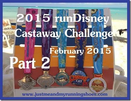runDisney Castaway Challenge Title