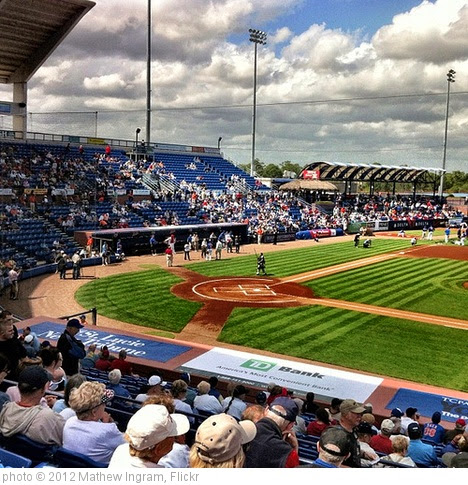 'Mets vs. Cardinals, Spring training in Port St. Lucie' photo (c) 2012, Mathew Ingram - license: https://creativecommons.org/licenses/by/2.0/