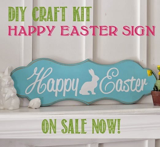 Spring Super Saturday Project - Happy Easter Sign