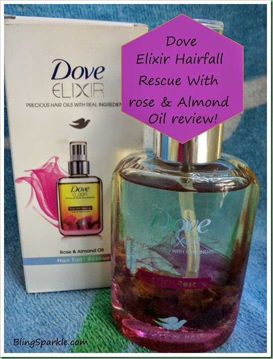 Dove Elixir Hairfall rescue Hairoil Review