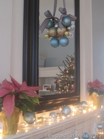Ornament Cluster on Mirror