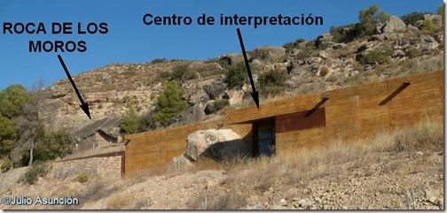 Centro de interpretación - Roca de los moros - Cogul - Lérida