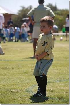 Jacks First Soccer Game 010