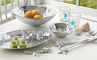 Textra Serving Bowl 98.00 Individual Bowl $36.00 Oval Sea Server $84.00 Seahorse Spreader 17.00 Salad Servers $48.00