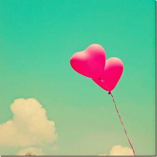 Heart Sky Balloons
