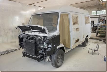 Renovierung Campingbus Lazi/Ungarn