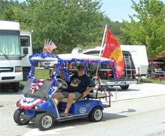 FV Rambos, July 2012 Parade