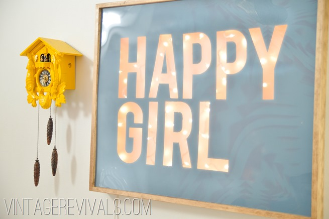 Happy Girl Sign-8