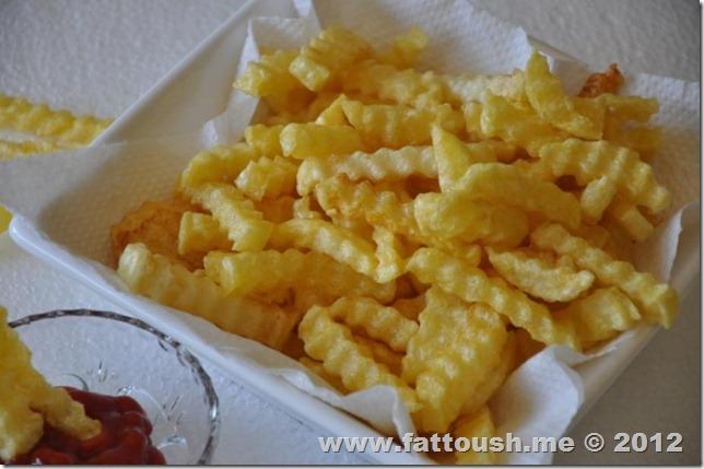 البطاطا المقلية المقرمشة من www.fattoush.me