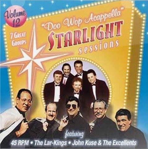 Doo Wop Acappella Starlight Sessions - Volume 12 - Front Cover