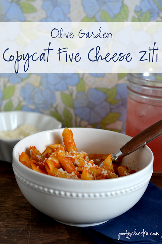 Copycat Five Cheese Ziti - an easy recipe and a fraction of the cost