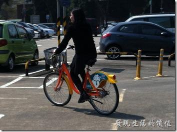 台北Ubike自行車好夯
