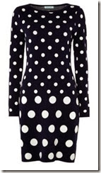 Knitted Spot Dress