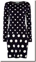 Knitted Spot Dress