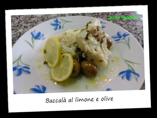 Immagine della ricetta del baccalà al limone e olive