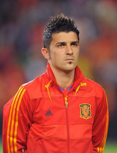 David Villa Spain Jersey