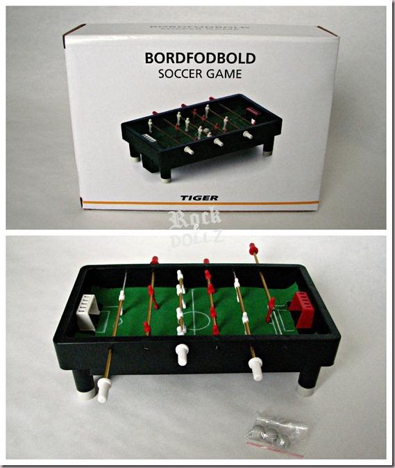 Futboln en miniatura