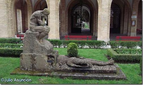 Escultura Vida y Muerte - Ramón Arcaya