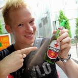 bintang beer in the streets of Harajuku in Harajuku, Tokyo, Japan