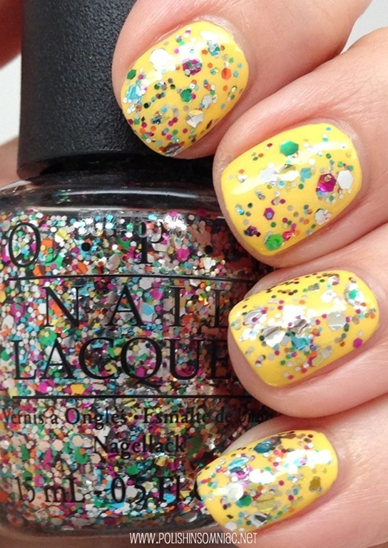 OPI Chasing Rainbows over I Just Can't Cope-A-Cabana