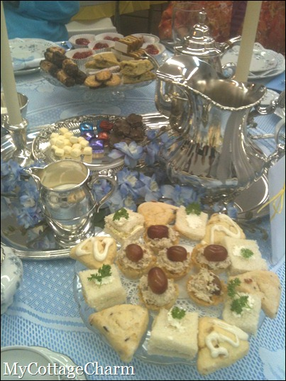 foods to have at a tea party