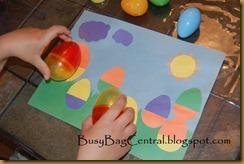 plastic egg matching