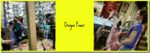 dragon power Collage