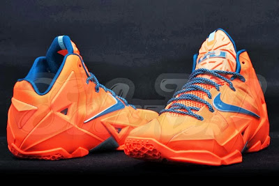 nike lebron 11 gr hardwood knicks 2 03 HWC esque Nike LeBron 11 is in Fact Miami vs. Akron