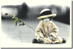 Cópia de Criança - Menina da Rosa