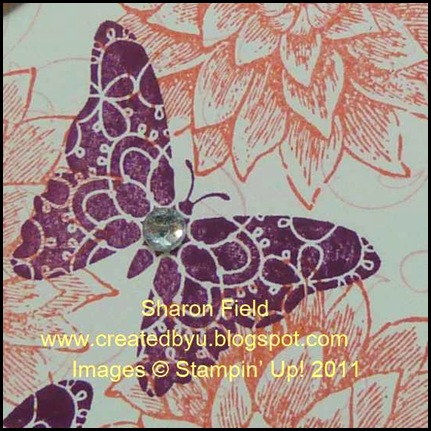 Butterfly with rhinestones and creative elements photo3