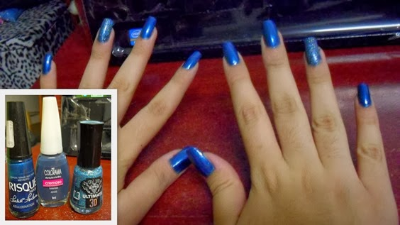 2º - Unhas Azuis