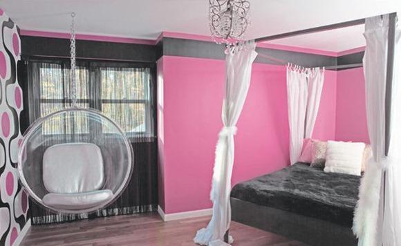 20 dise os de dormitorios multicolores para ni os ni as y for Disenos de cuartos para ninas adolescentes
