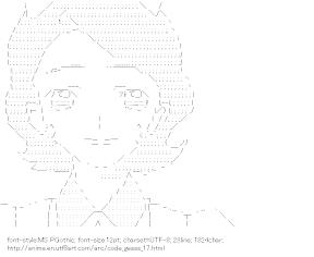 [AA]Shinozaki Sayoko (Code Geass)