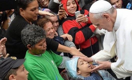 Francis inclusion