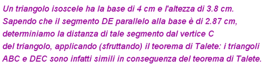 problema similitudine