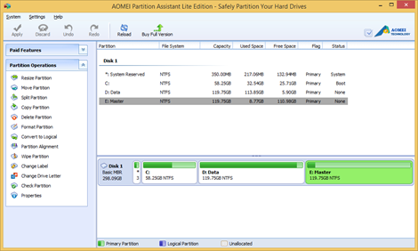 SnapCrab_AOMEI Partition Assistant Lite Edition - Safely Partition Your Hard Drives_2014-2-27_12-9-52_No-00