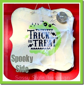 spooky side double sided wreath