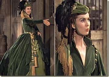 Scarlett-OHara-Green-Curtains-Dress