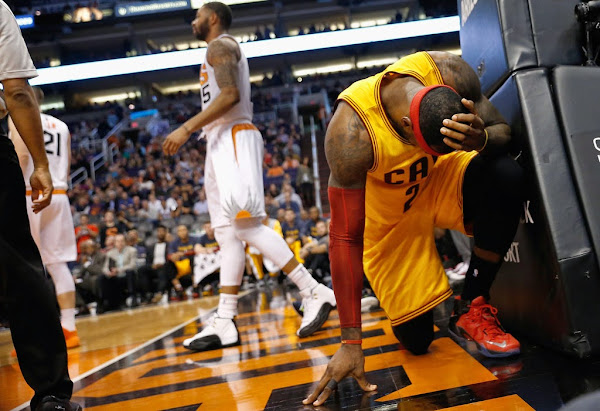 LeBron Treats Himself To a New LeBron 12 PE in His Comeback Game