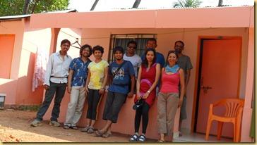 Avec nos cyclotouristes indiens