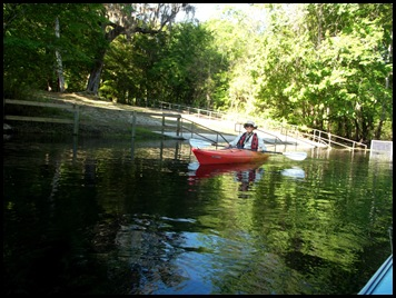 kayaking the Ichtucknee 002