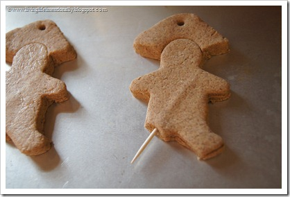 Gingerbread pirates ornaments kids can make