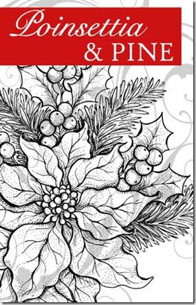 Poinsettia& Pine Graphic