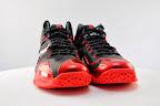nike lebron 11 gr black red 5 11 New Photos // Nike LeBron XI Miami Heat (616175 001)