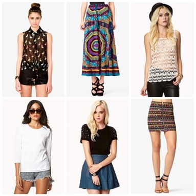 f21 shopping list 2, bitsandtreats