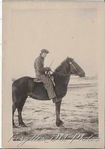 Man on a horse Winnipeg Antiques