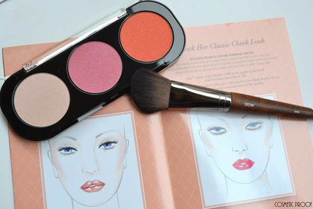 MAKE UP FOR EVER 50 Shades of Grey Desire Me Cheeky Blush Trio Review Swatches (3)
