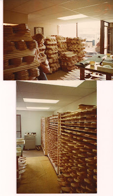 The area of our shop where we finish the boards and the top pic. is our showroom as we had no room for anymore storage in the back