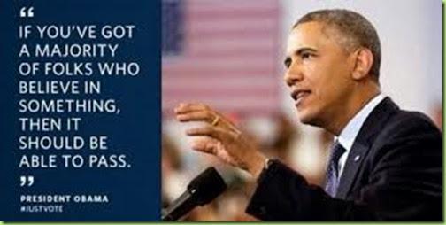 obama majority rule